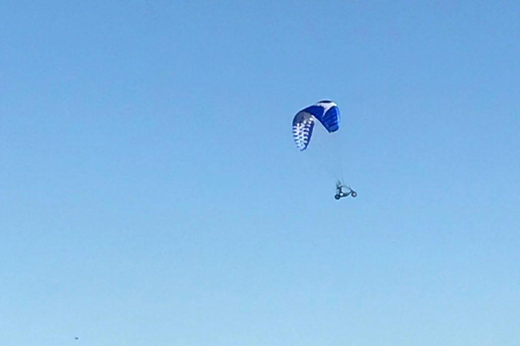 Modellflug in Gaiberg: Opale Oxy 5.0 über dem Modellflugplatz