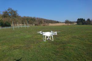 DJI Phantom 4 auf dem Modellflugplatz Gaiberg